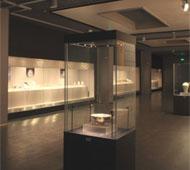 博物馆可拆玻璃顶独立柜 F-03