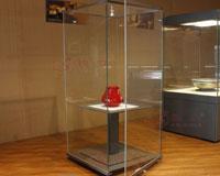 博物馆玻璃全景柜 F-04