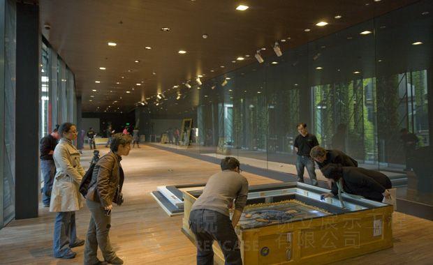 上海世博会法国馆施工现场