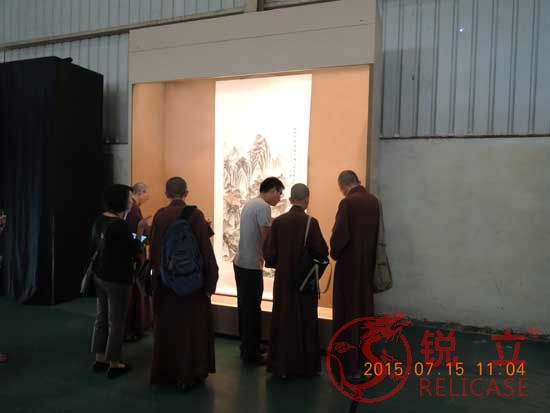 Taiwan Chung Tai Museum group visited Relicase factory
